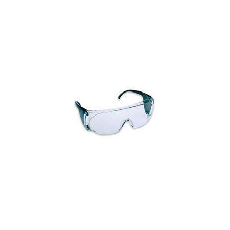 *Discontinued* Basic T1900 Series Safety Glasses, Clear Lens and Smoke Side Shields