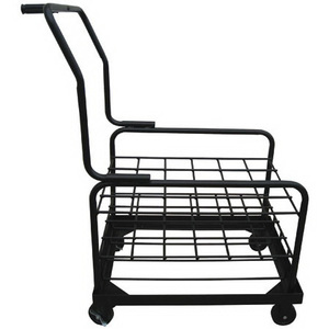 Cylinder Cart With Wheels, Holds 24 ME/MD Cylinders