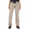 5.11® Women's Tactical Pant, Khaki, 6/Small, 27in Waist, Long Inseam