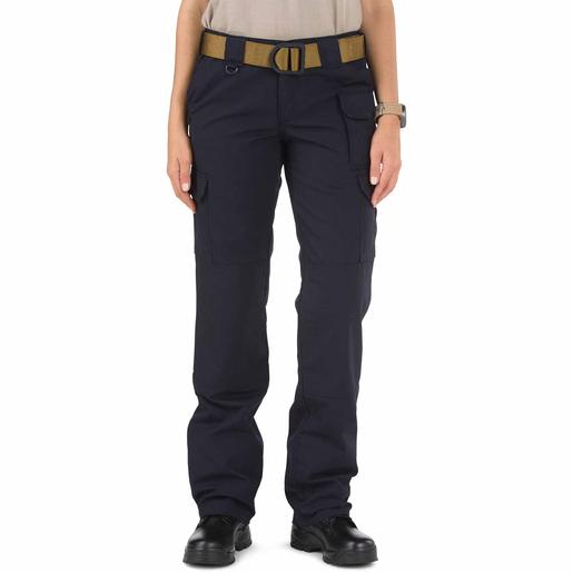5.11 Women's Cotton Tactical Pants, Fire Navy