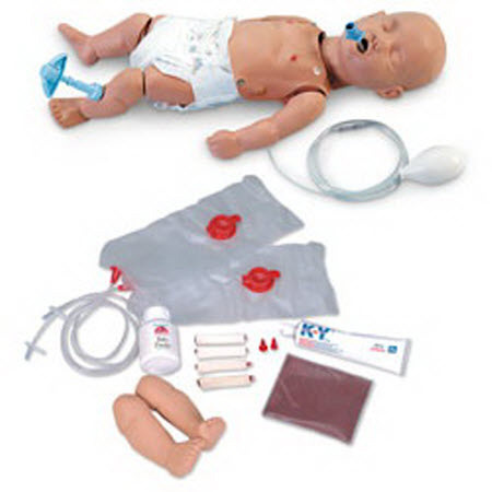 ALS Pediatric Trainer Manikin, with Carry Bag
