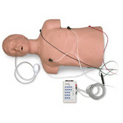 Defibrillation CPR Training Manikin with Carry Bag