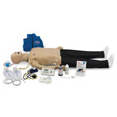 Life/form® CRiSis™ Complete Adult Manikin with Airway Larry Trainer