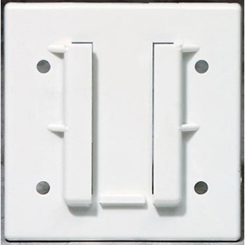 Universal Wall Plate with Holes, For Suction Canister