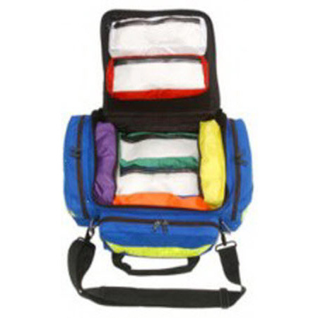 The Original MedKit, Pediatric, 21in L x 18in W x 10in D, Blue, Standard Cordura™