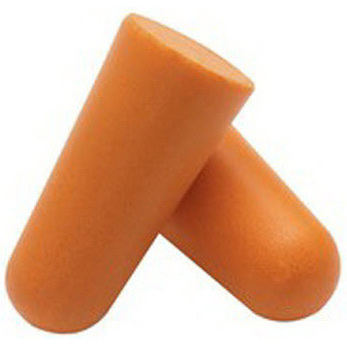 Jackson Safety H10 Disposable Uncorded Earplug, Orange, 29dB