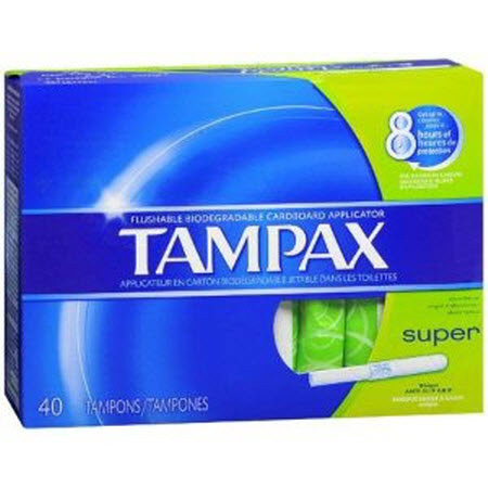 Tampax® Super Absorbency Tampon, Unscented