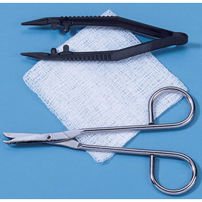 Suture Removal Kit with Plastic Posi-Grip Forceps