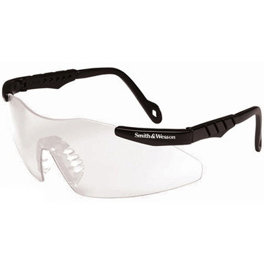 *Limited Quantity* Smith and Wesson Magnum 3G Safety Glasses, Smoke Lens, Black Frame *Non-Returnable and Non-Cancelable*