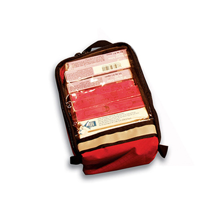 Zip Organizer Unit Red, 7in x 10in x 2in