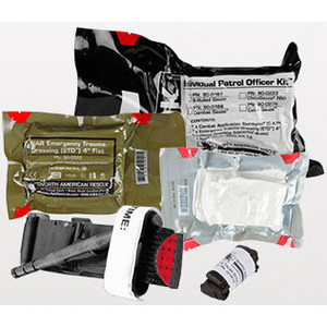 Individual Patrol Officer Kit, S-rolled Gauze