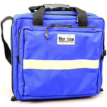 Paramedics Plus Trauma Bag, 13.5in L x 8in W x 12.5in H, Blue
