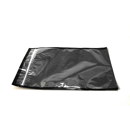 Polybag, Black, 12in x 6.75in