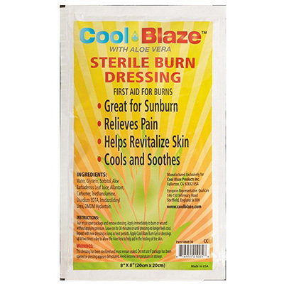 Cool Blaze Burn Dressing, 8in x 8in