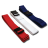 1-piece Disposable Polypropylene Backboard Strap with Plastic Side Release Buckle, 7ft L x 2in W, Red, White & Blue