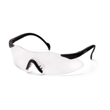 Intrepid Glasses, Clear Lens, Black Frame *Non-Returnable and Non-Cancelable*