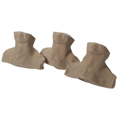 Replacement Skins for Life/form® Cricothyrotomy Simulation Kit