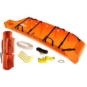 Sked® Basic Stretcher with Cobra Buckles, 8in x 8in x 37in, Orange