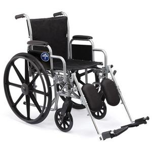 K1 Basic Wheelchair, Fixed Armrests