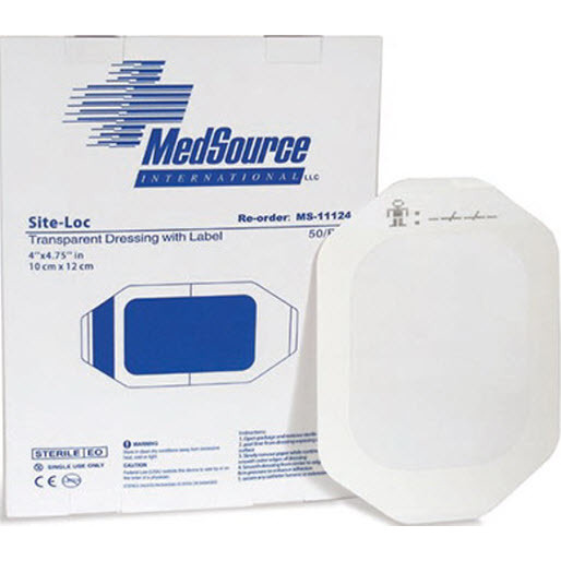 Site-Loc Dressing, 4in x 4-3/4in, Large