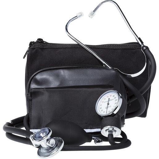 BP Cuff/Stethoscope Combo Kit, Black