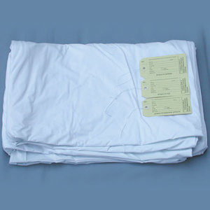 Body Bag with ID Tags, White