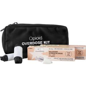 Two Dose Opioid Overdose Kit, Black Case