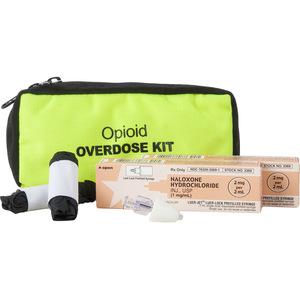 Two Dose Opioid Overdose Kit, Safety Yellow Case