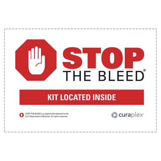 Curaplex® Stop the Bleed® Sticker Kit
