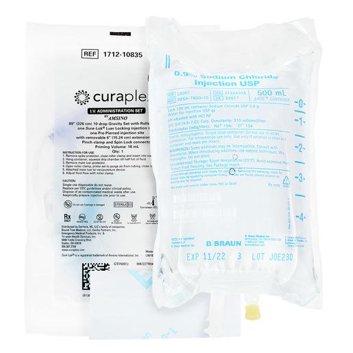 Curaplex® Spud Kit, 500mL