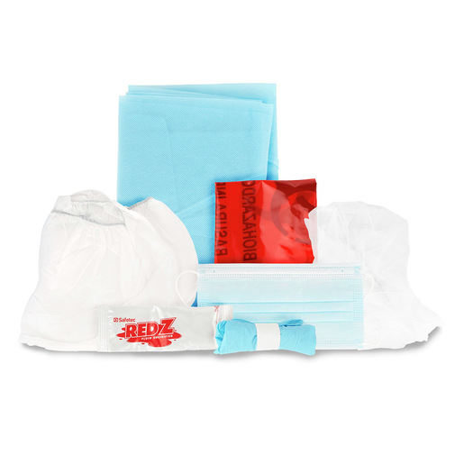Curaplex PPE Kit, Intermediate w/ Shoe/Hair Covers