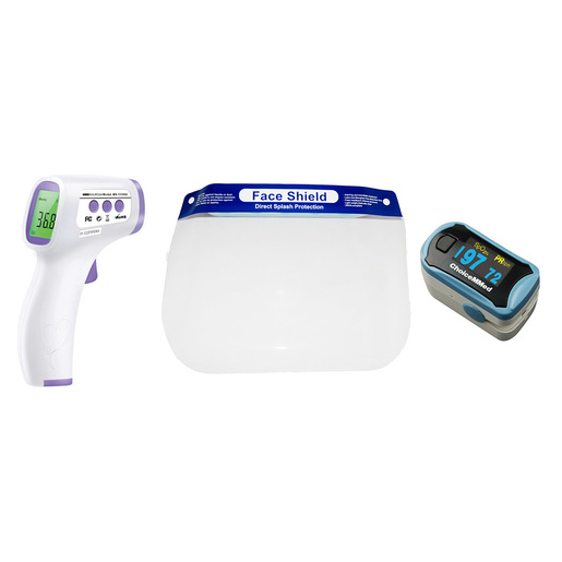 Curaplex® Temp and O2 Check Kit