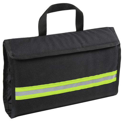 Curaplex® Intubation Case, Black w/Yellow Stripe