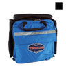 Emergency Medical Pack, 15in x 14in x 7in, Black, Pocketed