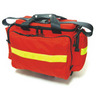 Trauma Kit, Small, 18in L x 14in W x 12in H, Red, Nylon, Without Modules