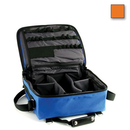 Deluxe Semi-Rigid First Responder Bag, Orange, 13.5in H x 13in W x 6in D