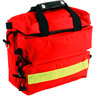 Multi Pocket Medical Kit, 12in L X 6in W X 11in H, Red, 1000D Nylon