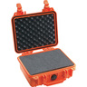 1200 Series Protector Case with Foam, Orange