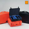1524 Series Medium Protector Case™ with Padded Dividers, Orange