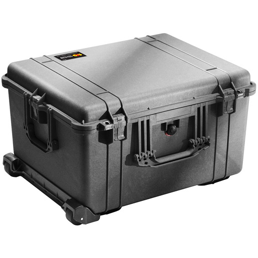 1620 Series Large Protector Case with Foam, Black