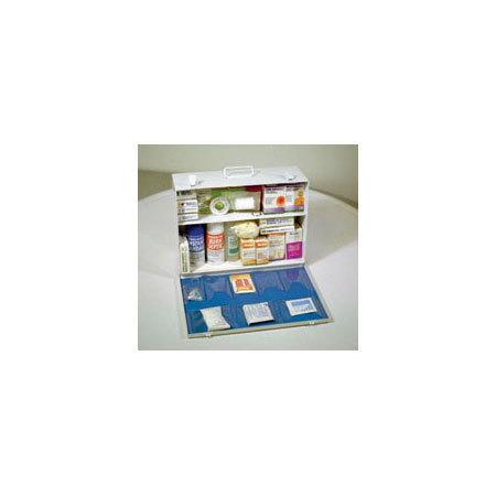 Cabinet, Medium, 10-1/2in x 15in x 5-1/2in, Metal, 2 Shelf