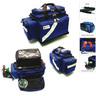 Oxygen/Trauma/Airway Deployment Kit, 23in L x 6-1/2in W x 14-1/4in D, Blue
