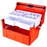 Flambeau Trauma Drug Kit, 17-3/8in L x 9-3/4in W x 5in D, Model 2272, Orange, Copolymer Resin