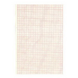 *Discontinued* ECG/EEG Recording Thermal Paper, Red Grid, Black Trace