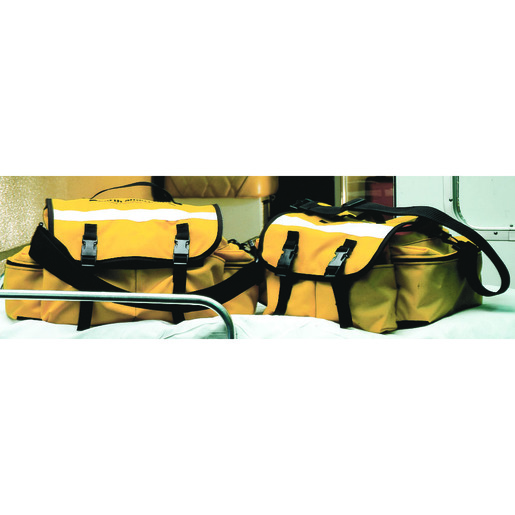 *Discontinued* Quick Access Trauma Bag, Yellow, Large, Antibacterial Fabric