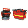Trauma Kit, Small, 18in L x 14in W x 12in H, Orange, Nylon, With Modules