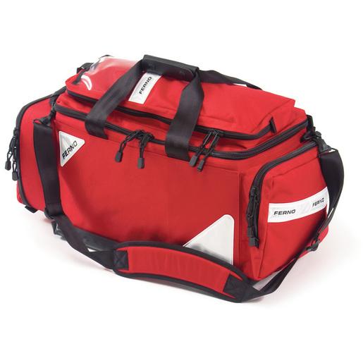 Professional Trauma/Air Management II Bag, 25in L x 11in W x 15in H, Red