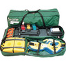 RES-Q-PAK Immobilization Case, 36in L x 8.5in W x 11in H, Green, Nylon