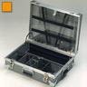 Drug Management Cases, Polyethylene, 22in x 7-1/2in x 16in, Orange