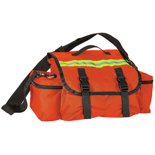 *Discontinued* Economy Responder Bag, Orange, Antibacterial Fabric